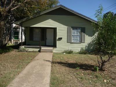 Haltom City Single Family Home For Sale: 1300 Clarence Street