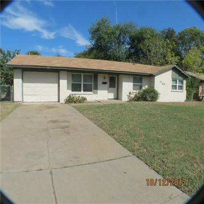 Forest Hill Single Family Home For Sale: 4705 Alandale Drive
