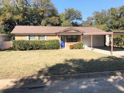 Mineral Wells Single Family Home Active Option Contract: 604 SE 27th Avenue
