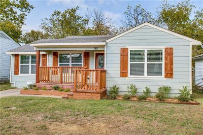 Dallas Single Family Home For Sale: 1811 Newport Avenue