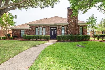 Plano Single Family Home Active Option Contract: 7308 Ryan Drive