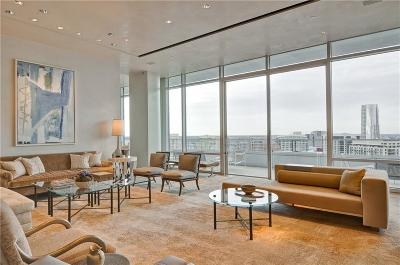Dallas  Residential Lease For Lease: 2430 Victory Park Lane #3001