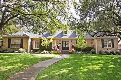 Single Family Home For Sale: 11820 Hampstead Lane