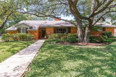 Dallas Single Family Home For Sale: 10443 Remington Lane