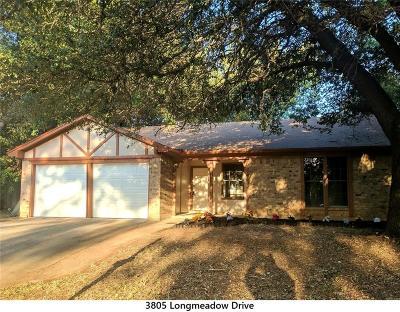 Arlington Single Family Home Active Option Contract: 3805 Longmeadow Drive