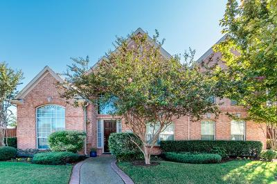 Plano Single Family Home Active Option Contract: 3600 Asbury Lane