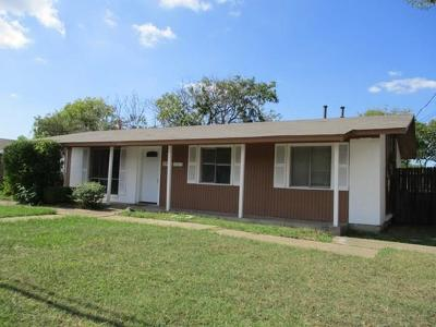 Mesquite Single Family Home For Sale: 2509 N Town East Boulevard