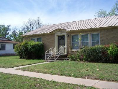 Eastland County Single Family Home For Sale: 526 Roberts