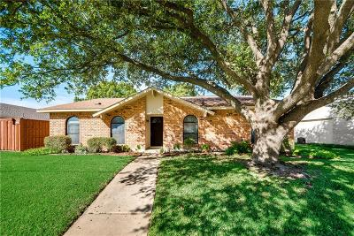 Plano TX Single Family Home Active Option Contract: $219,900