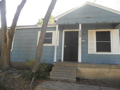 Dallas Single Family Home For Sale: 3631 Kellogg Avenue