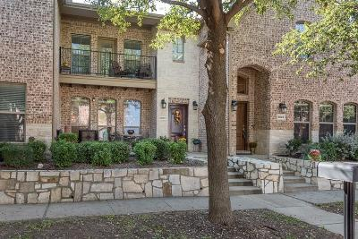 Frisco Townhouse Active Option Contract: 6833 Massa Lane