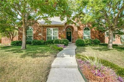 Allen Single Family Home For Sale: 1801 Leander Court