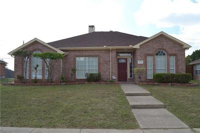 Mesquite Single Family Home For Sale: 1405 Williams Creek