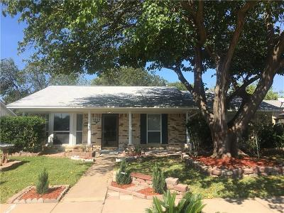 Garland Single Family Home For Sale: 1817 San Antonio Lane