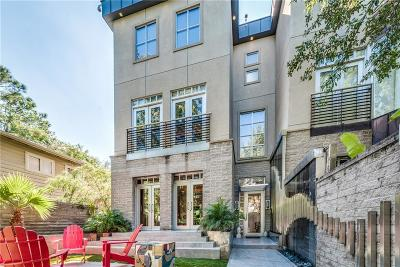 Dallas Townhouse For Sale: 3625 Brown Street