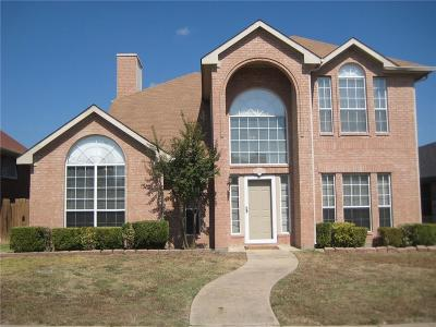 Mesquite Single Family Home For Sale: 3325 High Meadow Drive