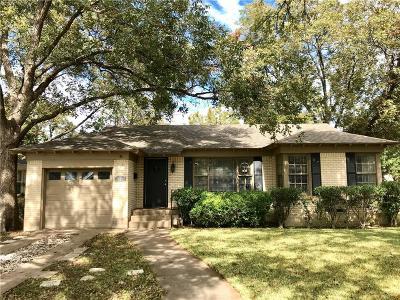 Single Family Home For Sale: 3733 Manana Drive