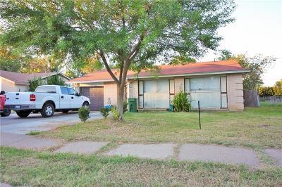 Arlington Single Family Home For Sale: 1509 E Tucker Boulevard