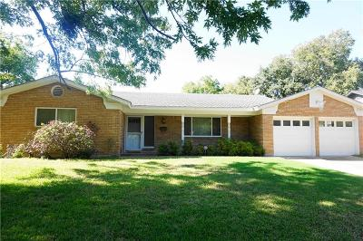 Fort Worth Single Family Home For Sale: 5724 Wharton Drive