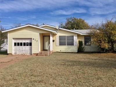 Abilene Single Family Home For Sale: 817 S Bowie Drive