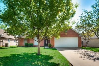 Grapevine Single Family Home Active Option Contract: 1833 Parkwood Drive