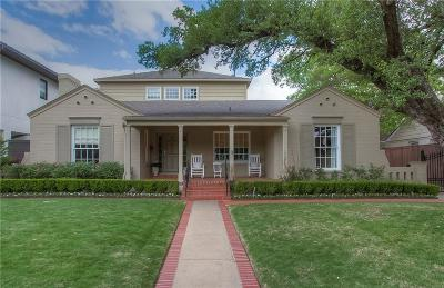 Fort Worth Single Family Home For Sale: 3524 Dorothy Lane N