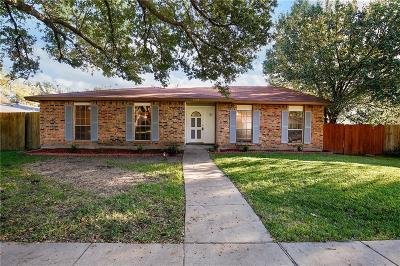 Garland Single Family Home For Sale: 4406 Mint Drive