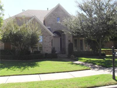 North Richland Hills Single Family Home Active Option Contract: 8008 Red River Run