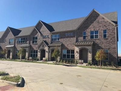 Lewisville Townhouse For Sale: 2534 Plumas Drive