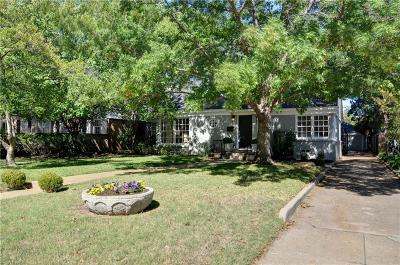 Tarrant County Single Family Home For Sale: 3604 Westcliff Road S