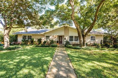 Dallas Single Family Home For Sale: 3866 Crest Cove Circle