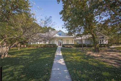 Cross Roads Single Family Home For Sale: 4150 W Oak Shores Drive
