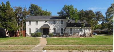 Richardson Single Family Home For Sale: 512 Park Lane