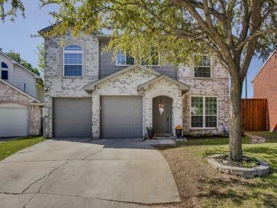 Lewisville Single Family Home Active Option Contract: 1406 Daffodil Lane