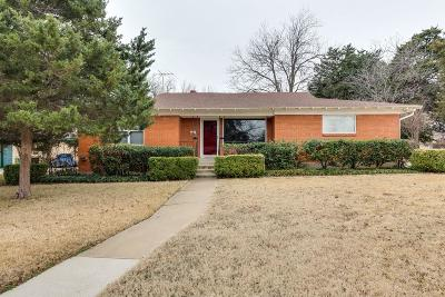 North Richland Hills Single Family Home Active Option Contract: 5900 Tourist Drive