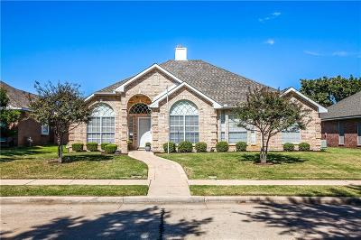 Lewisville Single Family Home Active Option Contract: 1657 Waterford Drive