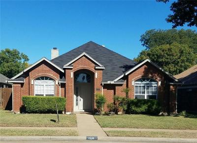 Dallas County Single Family Home For Sale: 1526 High Pointe Lane