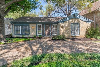 Dallas Single Family Home For Sale: 6111 Penrose Avenue