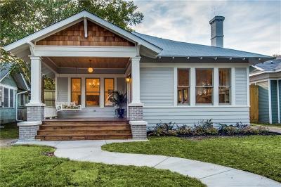 Dallas Single Family Home For Sale: 315 N Clinton Avenue