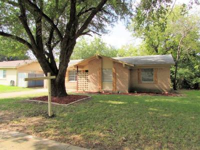 Forest Hill TX Single Family Home For Sale: $115,900