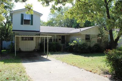 Dallas Single Family Home For Sale: 9116 Clearwater Drive