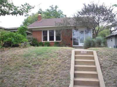 Residential Lease For Lease: 2222 Irwin Street