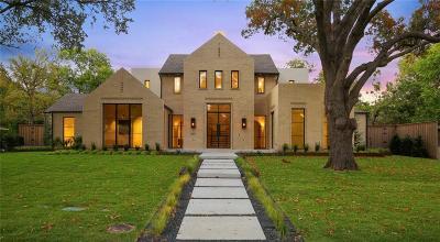 Dallas Single Family Home For Sale: 5617 Meletio Lane