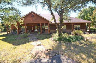 Weatherford Single Family Home For Sale: 205 Saddle Club Road