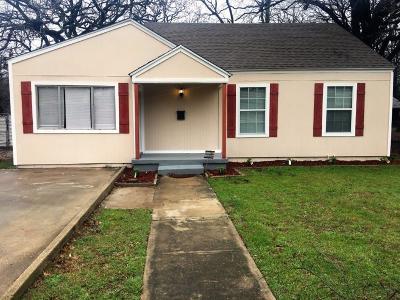 Haltom City TX Single Family Home For Sale: $122,900