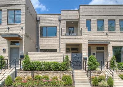 Fort Worth Townhouse For Sale: 3702 Tulsa Way