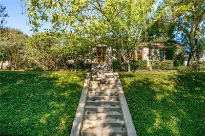 Dallas Single Family Home For Sale: 7001 Vivian Avenue