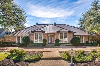 Dallas Single Family Home Active Option Contract: 5922 Club Oaks Drive