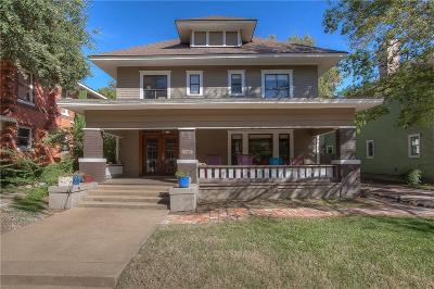 Fort Worth Single Family Home For Sale: 1909 Alston Avenue