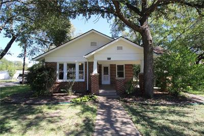 Cleburne Single Family Home For Sale: 901 Prairie Avenue
